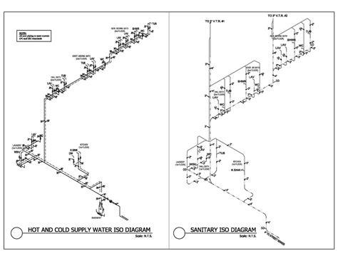 Plumbing Riser Diagrams by Plumbing Water Riser Diagram Plumbing Riser Diagram For