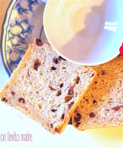 pane in cassetta con lievito madre pane in cassetta all uvetta con lievito madre cucina