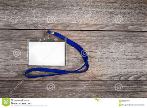 id card rope design name id card badge stock photo image 58957472