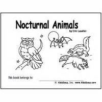 printable nocturnal animal book owls preschool activities crafts lessons and printables