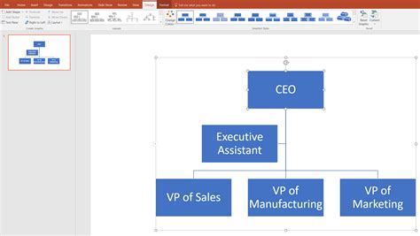 Powerpoint Org Chart Move Lines How To Make An Org Chart How To Make An Organizational Chart In Powerpoint 2010