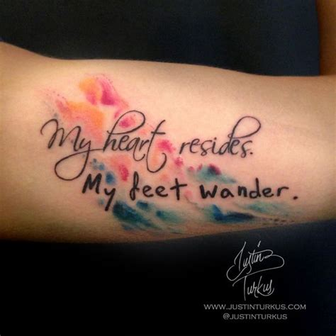 watercolor tattoo lettering best 25 watercolor tattoos ideas on