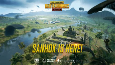 pubg mobile updates pubg mobile update 0 8 live with sanhok map on android