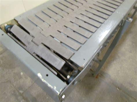 table top chain conveyor plastic table top chain conveyor 10 quot widechain x 9 10 quot