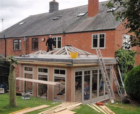 House Design Inside Simple orangery extension progress r a g architects