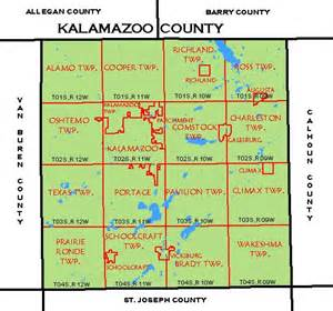 us map kalamazoo michigan cf map kalamazoo county