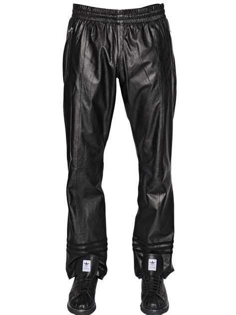 Sweat Pant Adidas Black Kode 002 adidas originals leather in black for lyst