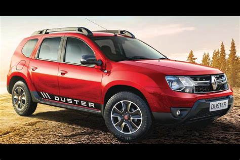 renault duster 2017 black renault duster with 1 5l petrol engine and cvt launched in