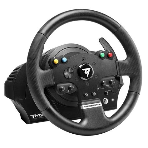 volante pc thrustmaster tmx feedback volant pc thrustmaster