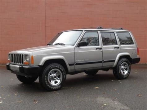 how make cars 2001 jeep cherokee parental controls buy used 2001 jeep cherokee sport 4x4 no reserve just serviced free carfax clean in