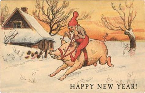new year animal pig weeeeeeeeeeeee vintage pigs piggy stuff