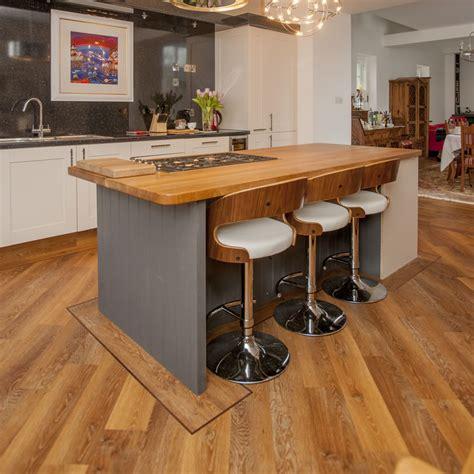 Installing A Kitchen Island solid oak worktops from haldane uk haldane timber