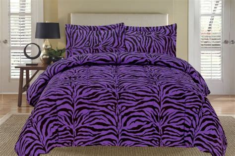 zebra king size comforter set cute and awesome purple comforter sets for your bedroom