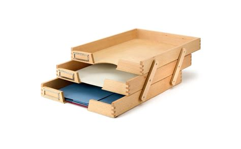 Paper Tray - 8 fashionable paper holders to add a touch of style to