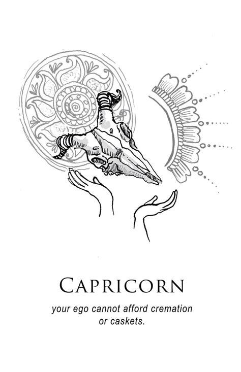 capricorn tattoo tumblr capricorn horoscope capricorn