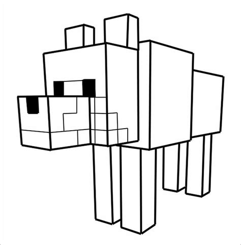 minecraft animal coloring pages printable minecraft coloring pages 21 free printable word pdf