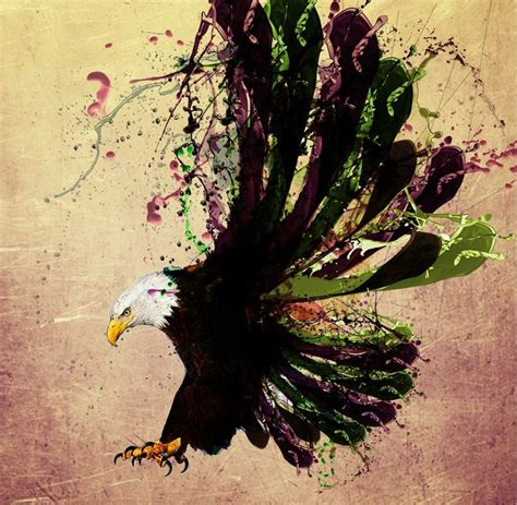 watercolor tattoo eagle bald eagle watercolor ideas