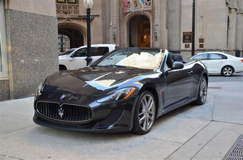 Used Maserati Granturismo Convertible by 2013 Maserati Granturismo Mc Convertible Sport Used