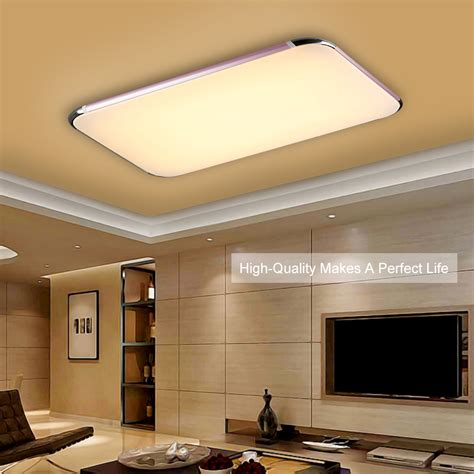 Wireless Ceiling Light Fixtures 40w Led Ceiling Light Wireless Remote Suspended Recessed Panel Fixture Ebay