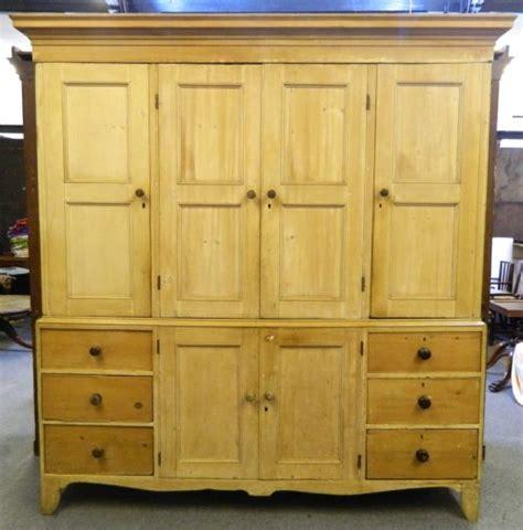 Pine Cupboard Large Pine Housekeepers Cupboard 220359