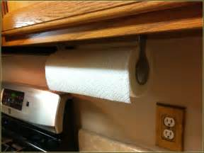 Wrought iron paper towel holder under cabinet home design ideas