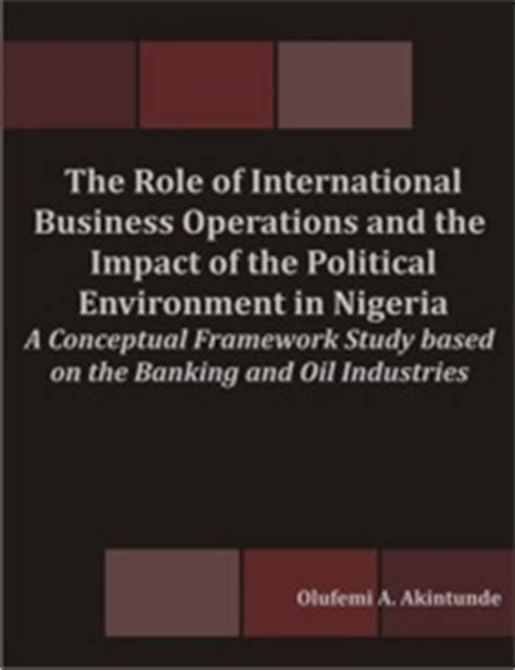 without the function of politics in international books the of international business operations and the