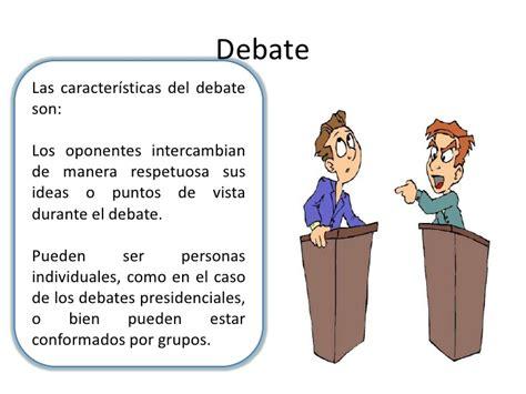 imagenes de debates escolares tipos de textos argumentativos