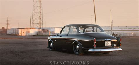 stance works keith rosss slammed  volvo amazon