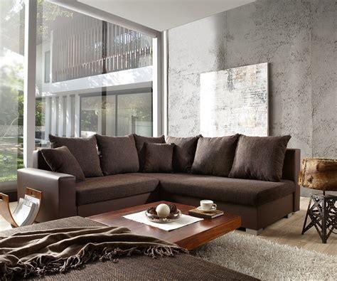 wohnzimmer dunkelbraun wohnzimmer sofa dunkelbraun wohnlandschaft santa