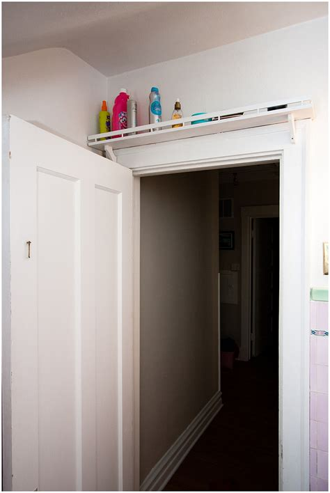 shelf over bathroom door over the door shelving scott ray designs
