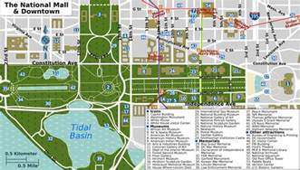 map of the mall of taxi availability around the smithsonian washington dc