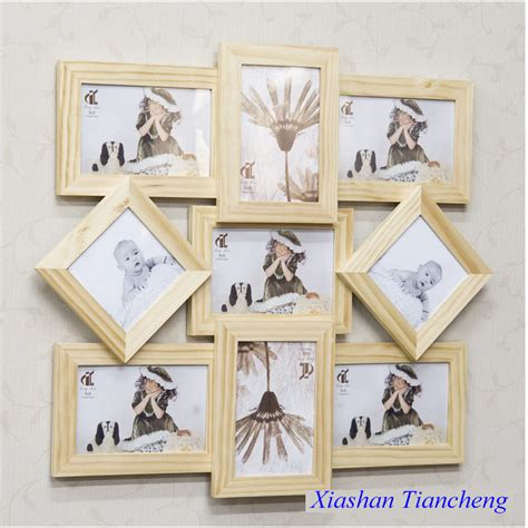 Designs Of Handmade Photo Frames - 2015 simple design handmade stick molding wooden photo