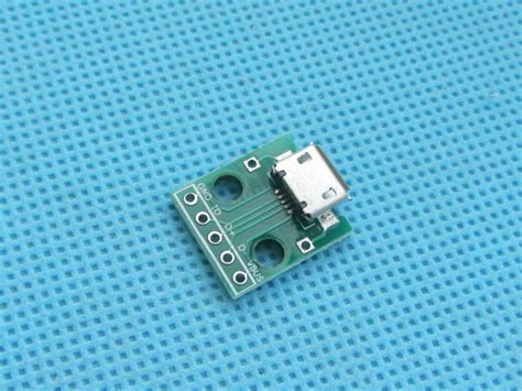 Usb20 Usb 20 To Dip 20pcs micro usb to dip adapter 5pin connector b type pcb converter in other electronic