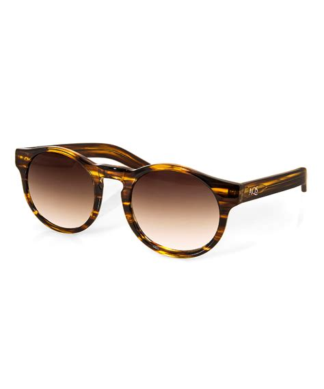 Keyhole Sunglasses by Aqs Unisex Bennie Keyhole Sunglasses Bluefly