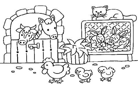 imagenes de animales de granja para colorear dibujos para colorear granja imagenes de animales para