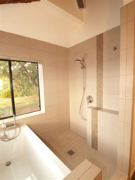 bathtub inside shower tub inside walk in shower