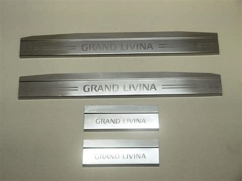 Door Sill Plate Livina With L Stainless nissan grand livina door sill plate end 7 28 2017 4 18 pm