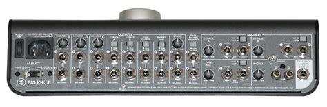 Big Knob by Mackie Big Knob Studio Command System Monitor