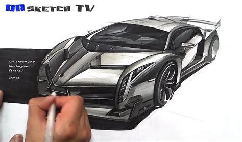 lamborghini veneno sketch 온스케치 tv car sketch quot lamborghini veneno sketch color