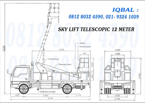 Tangki Solar 10 000 Ltr karoseri sky lift telescopic 12 meter dealer mitsubishi