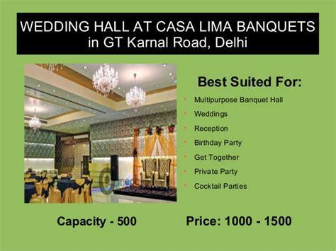 Top 5 Wedding and Reception Venues in Delhi
