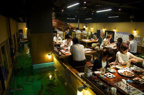 fishing boat restaurant japan fish and eat japanese style bar restaurant zauo japan