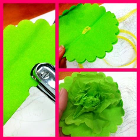 Tissue Paper Flower Craft - let s craft tissue paper flowers and a giveaway