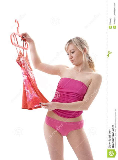 how can a woman get woman getting dressed stock image image of adult