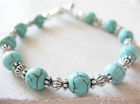beaded bracelets for a cause turquoise and silver bracelet bracelets for a cause https