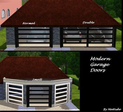 Garage Door Settings by Manuke S Modern Garage Door Set