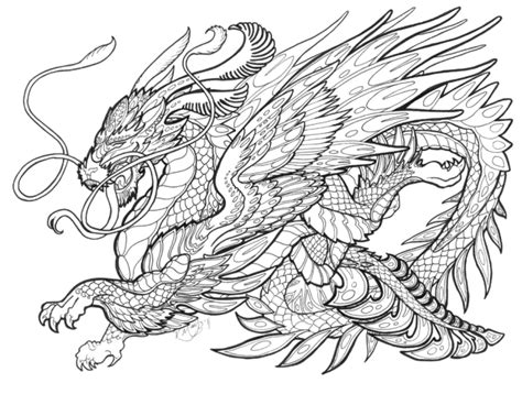 Mythical Dragons Coloring Pages | mythical creatures coloring pages gt if you re looking