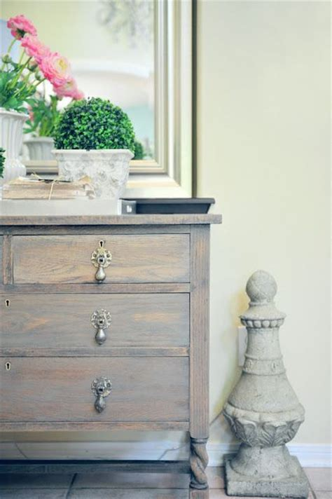 grey stained wood dresser dresser makeover with driftwood gray stain paint love