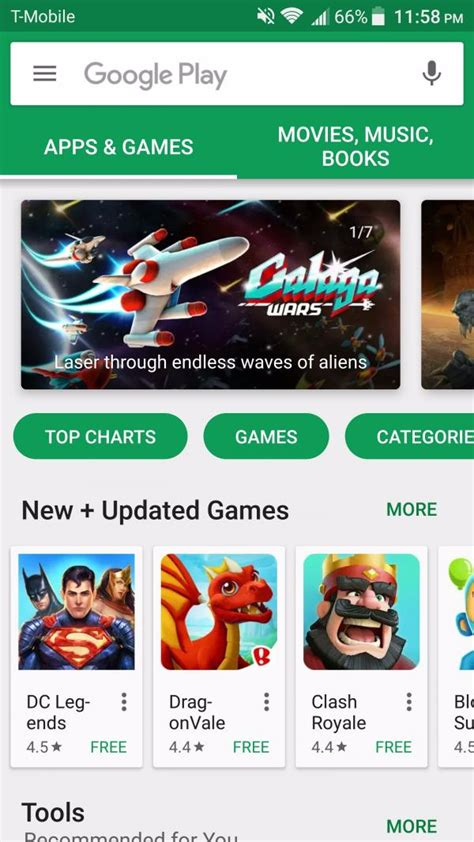 play store new play store is getting an update with new design
