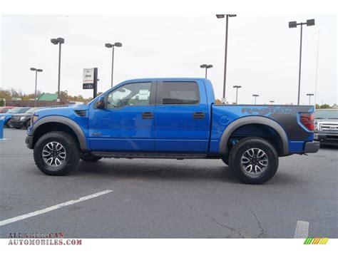 Ford Raptor Blue by 2013 Ford F150 Svt Raptor Supercrew 4x4 In Blue